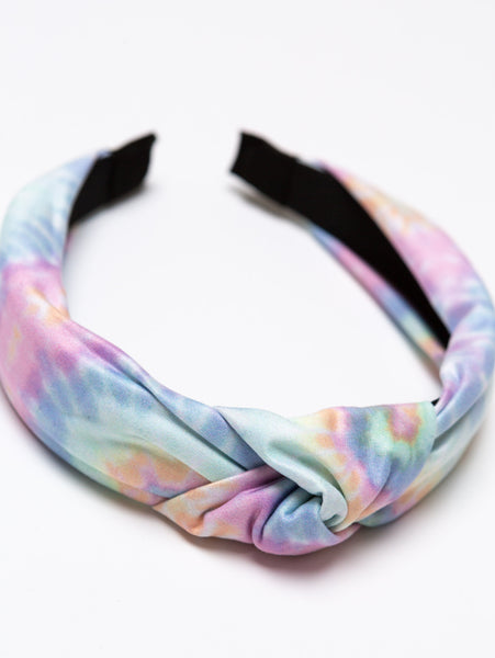 Top Knot Headband-STYLED BY SARVI-Over the Rainbow