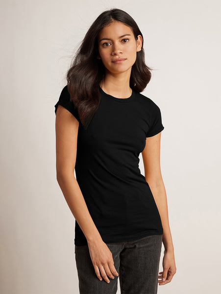 Jemma Crew Neck T-Shirt-Velvet-Over the Rainbow