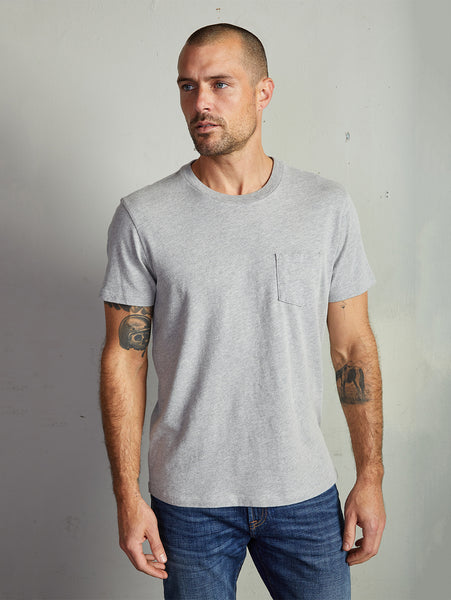 Hart Heather Jersey T-Shirt - Heather Grey-Velvet-Over the Rainbow