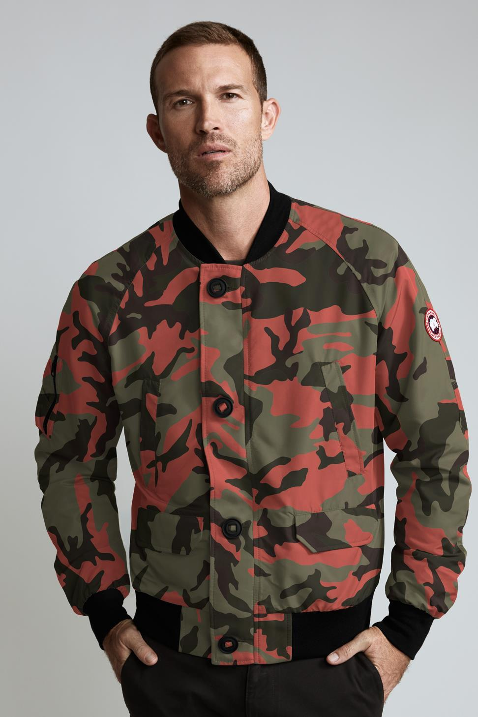 Faber Bomber - Fire Bud Camo-Canada Goose-Over the Rainbow