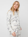 Ramona Sweatshirt Top - Stone Camo-Rails-Over the Rainbow