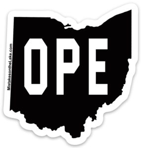 Ope Sticker - Mistakes on the Lake