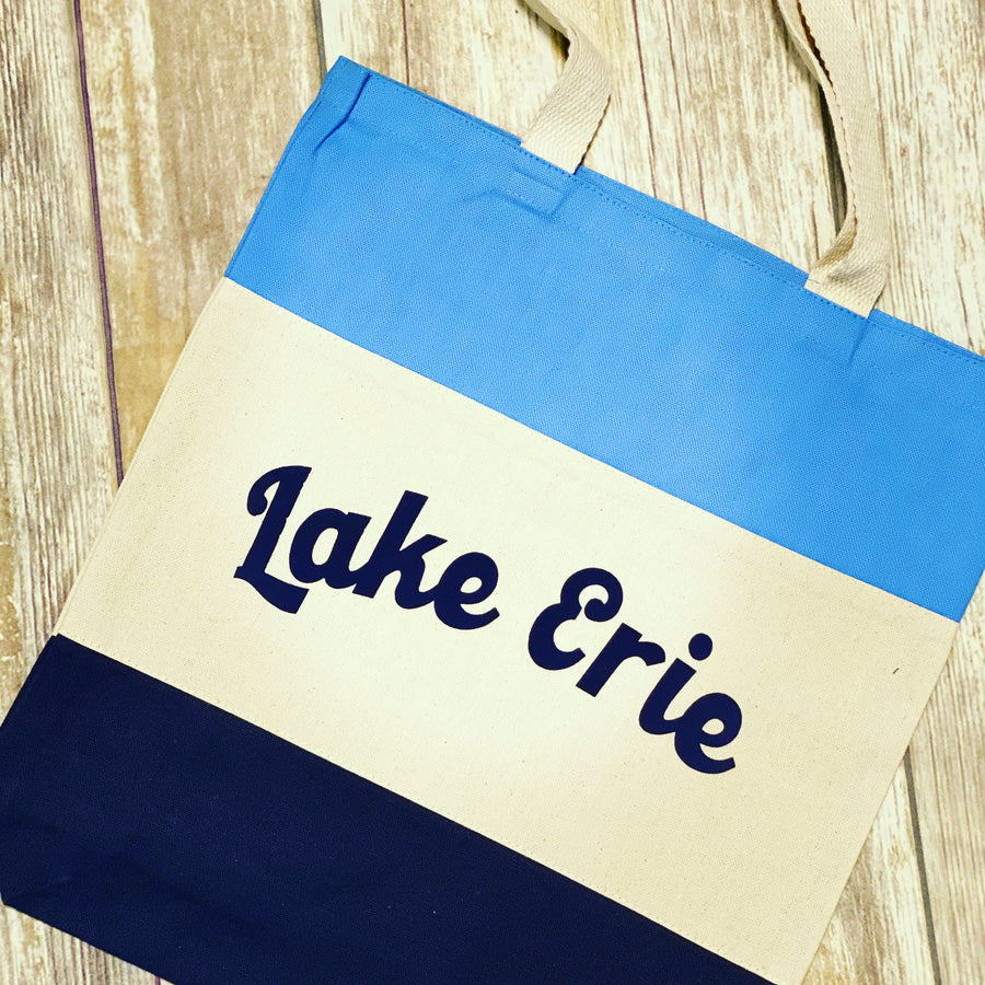 Lake Erie Tote - Mistakes on the Lake