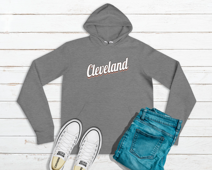 Vintage Cleveland - Brown & Orange - Mistakes on the Lake