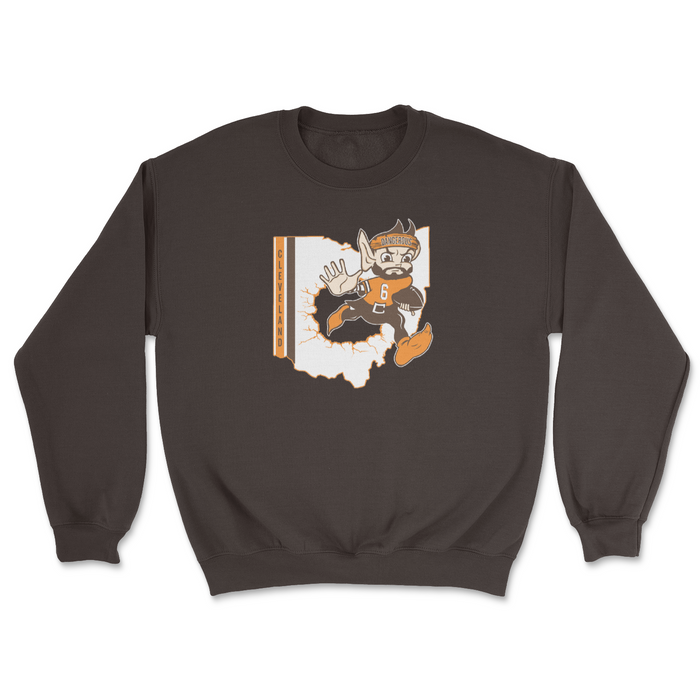 Ohio Elf Crewneck Sweatshirt - Mistakes on the Lake