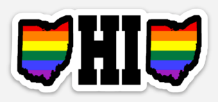 Ohio PRIDE Sticker - Mistakes on the Lake