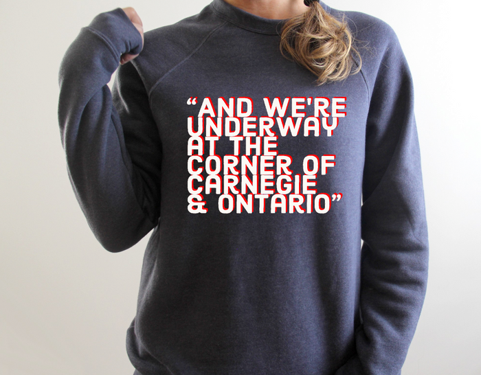 We're Underway Crewneck Raglan Sweatshirt - Mistakes on the Lake