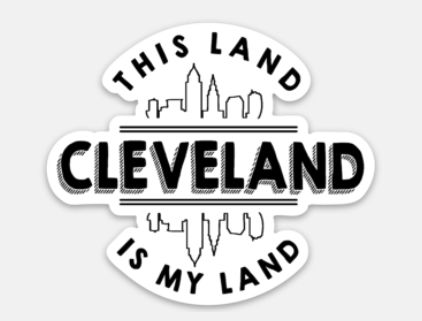 This land is My Land Sticker - Mistakes on the Lake
