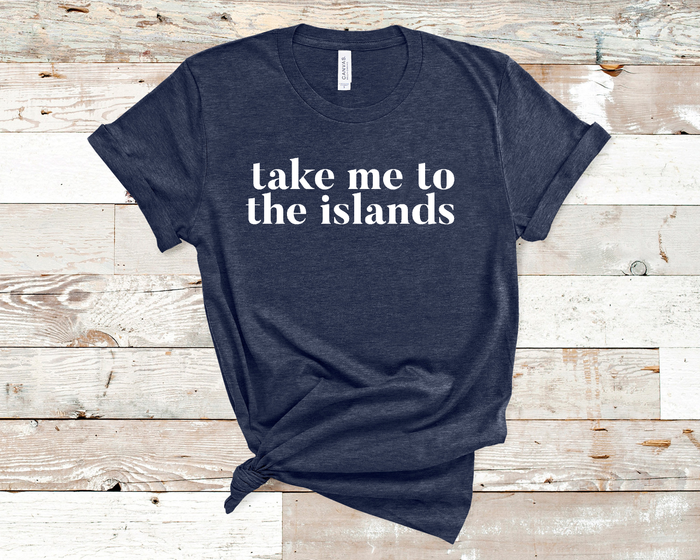 Take me to the Islands Tee - Mistakes on the Lake