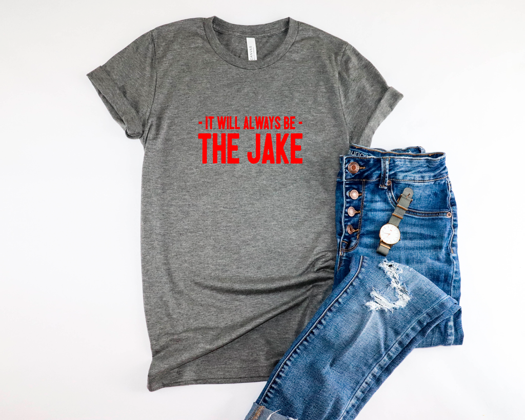 Always the Jake Unisex Tee - Mistakes on the Lake