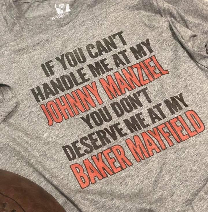 You don't deserve me at my Baker Unisex Tee - Mistakes on the Lake