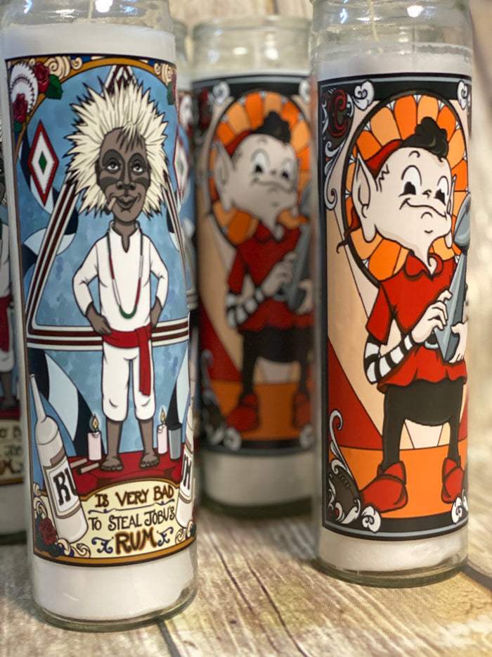 CLE Sports Prayer Candle - 2 for $25 - Mistakes on the Lake