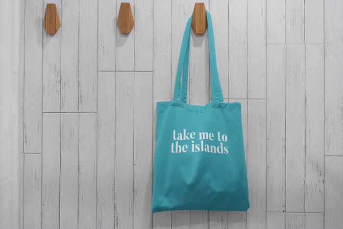 Take me to the Islands Tote - Mistakes on the Lake