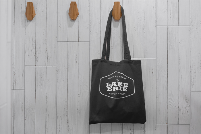Lake Erie Always Fresh Never Salty Tote - Mistakes on the Lake
