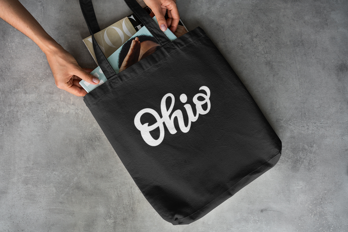 Script Ohio Tote - Mistakes on the Lake