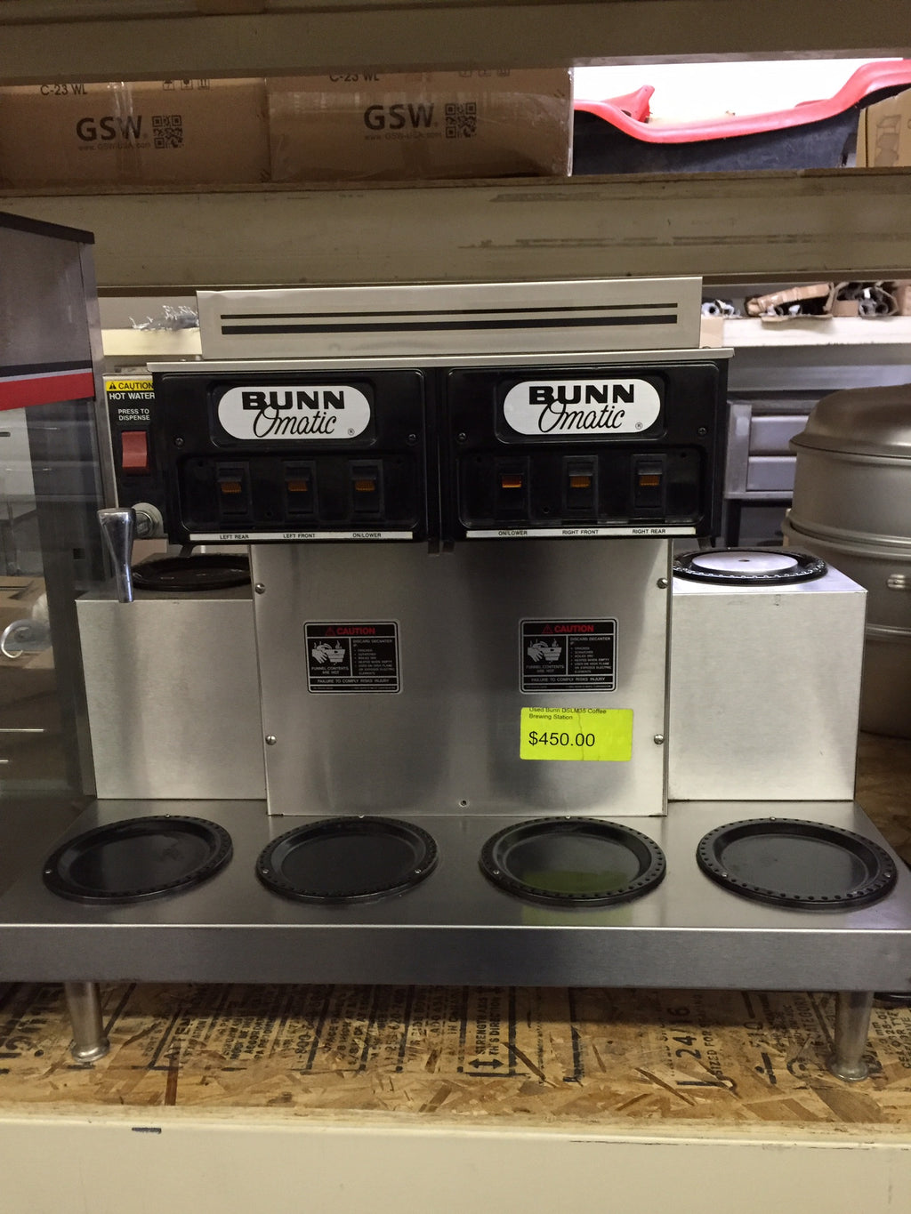USED Bunn Coffee Brewer