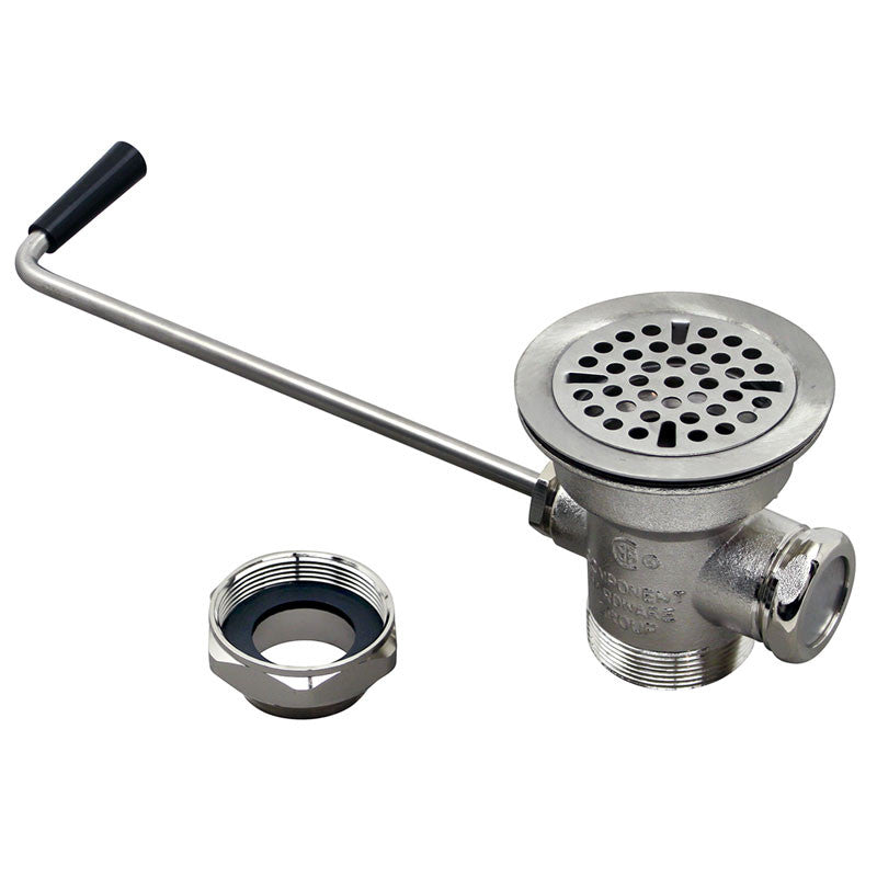 "WASTE DRAIN - 3""SINK OPENING, TWIST 100-1032"