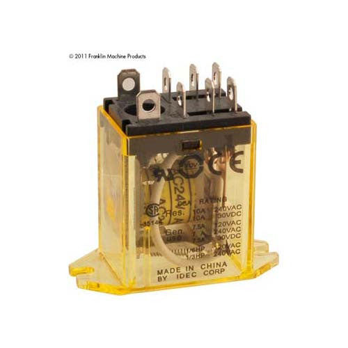 RELAY,FLANGE MOUNTED, 24VAC 103-1129