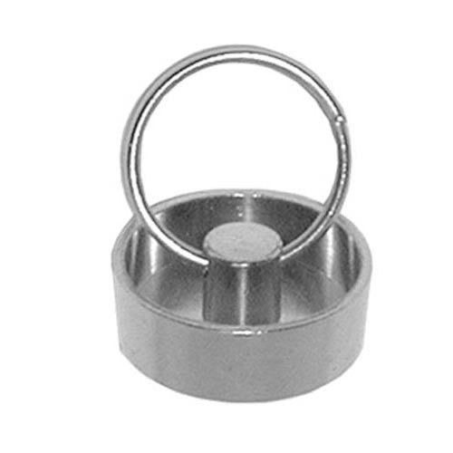 1 1/2in Drain StopperChg, Nickel Plated Brass 11-349