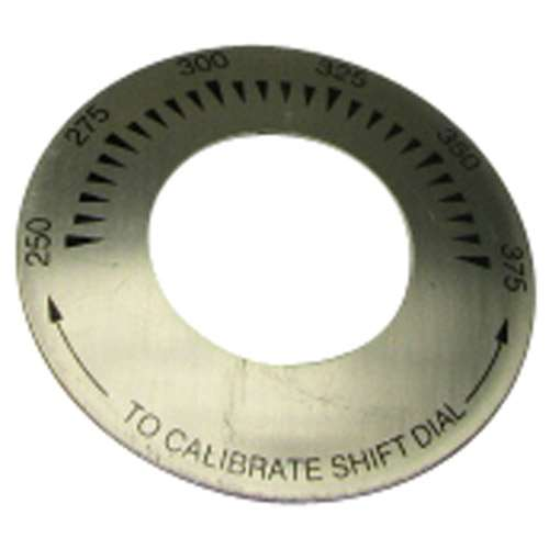 Dial Plate 3 D, 250-375 For Keating 034977