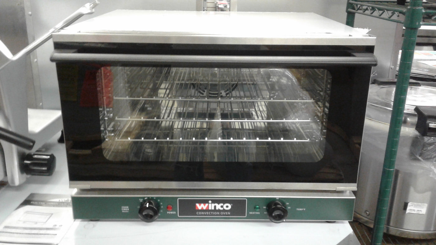 Winco Half Size Electric Counter Top Convection Oven 1600W