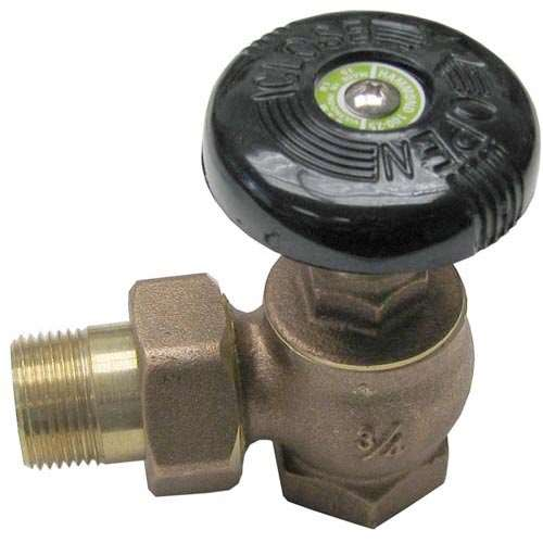 "Angle Valve 3/4"" For Market Forge 10-3661"