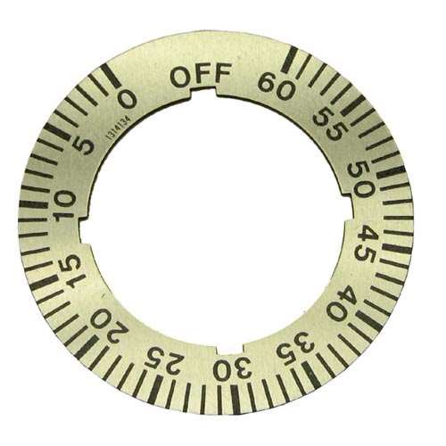 Dial Insert 0-60 Min. For Garland 1314134