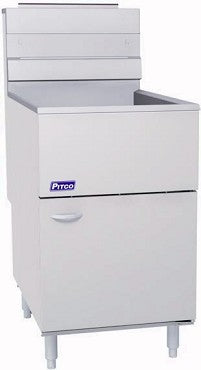 Pitco Frialator 65C+S Gas Fryer 5 Tube 65 lb.