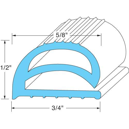 "Gasket 28-1/2""X 7-3/4"" For Jade 2100010444"