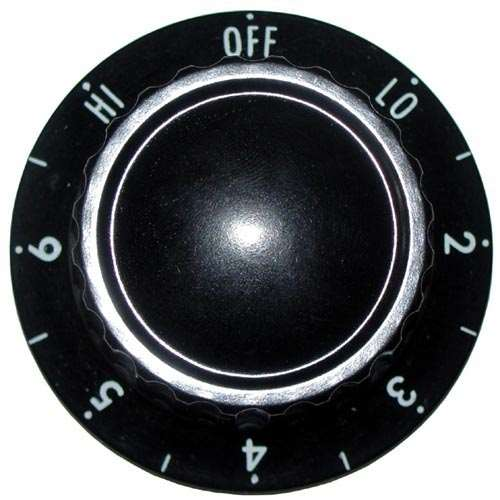 Knob 2 D, Off-Lo-2-6-Hi For Apw 55825