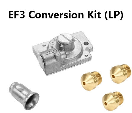 Conversion Kit NAT to LP for Vulcan EF3 Fryer (Robertshaw Valve)