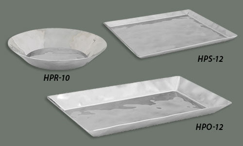 Display Trays (Elegant 18/8 Stainless Steel) Square