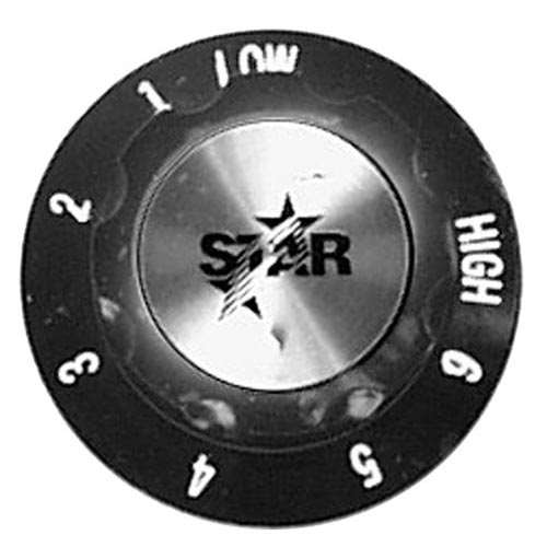 Knob 2 D, Hi-6-1-Lo For Star 2R-Y6353