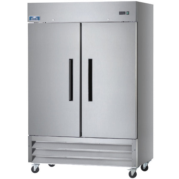 Arctic Air AF49 Two Solid Door Reach-in Freezer FREE SHIPPING!