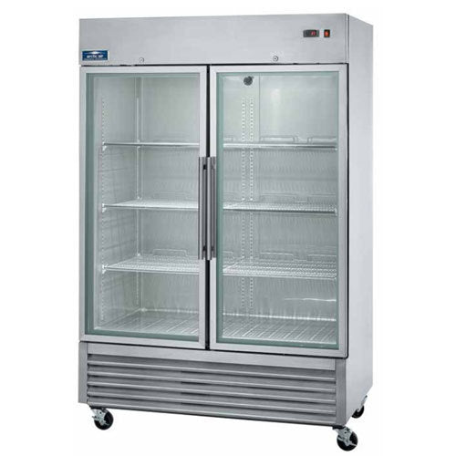 Arctic Air AGR49 Two Glass Door Reach-In Refrigerator FREE SHIPPING!