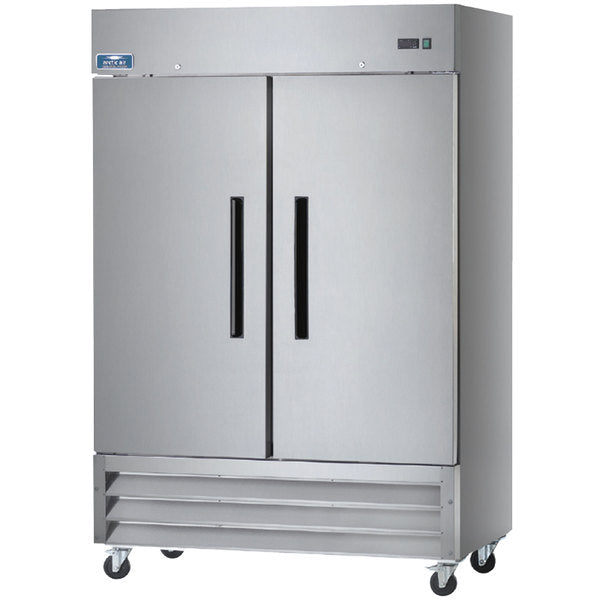 Arctic Air AR49 Two Solid Door Reach-in Refrigerator FREE SHIPPING!