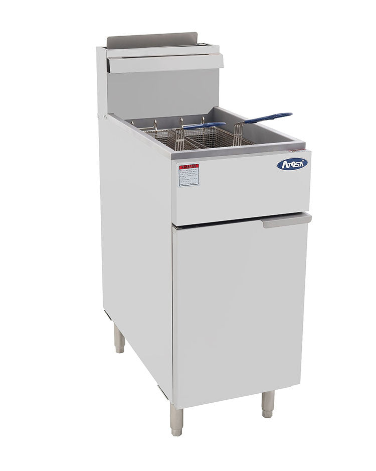 Atosa ATFS-40 Heavy Duty Deep Fryer 40 lb. Capacity FREE SHIPPING!