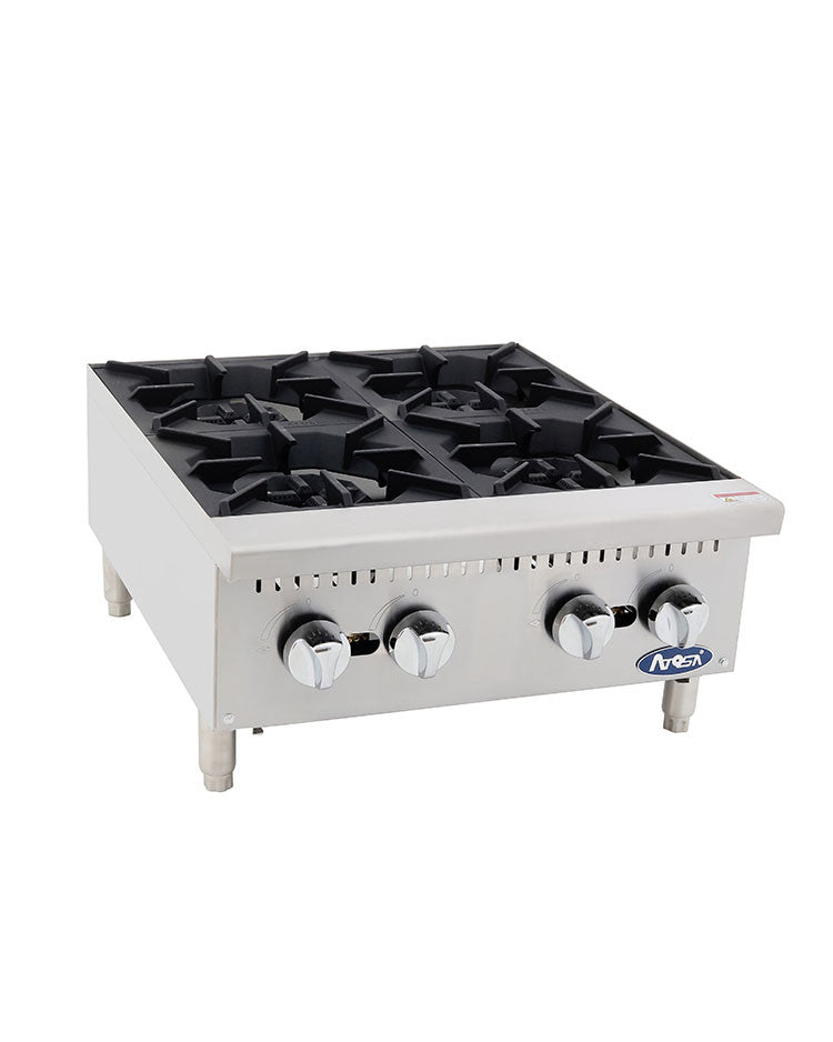 "Atosa HD ATHP-24-4 24"" Countertop Hot Plate - Four Burner FREE SHIPPING!"