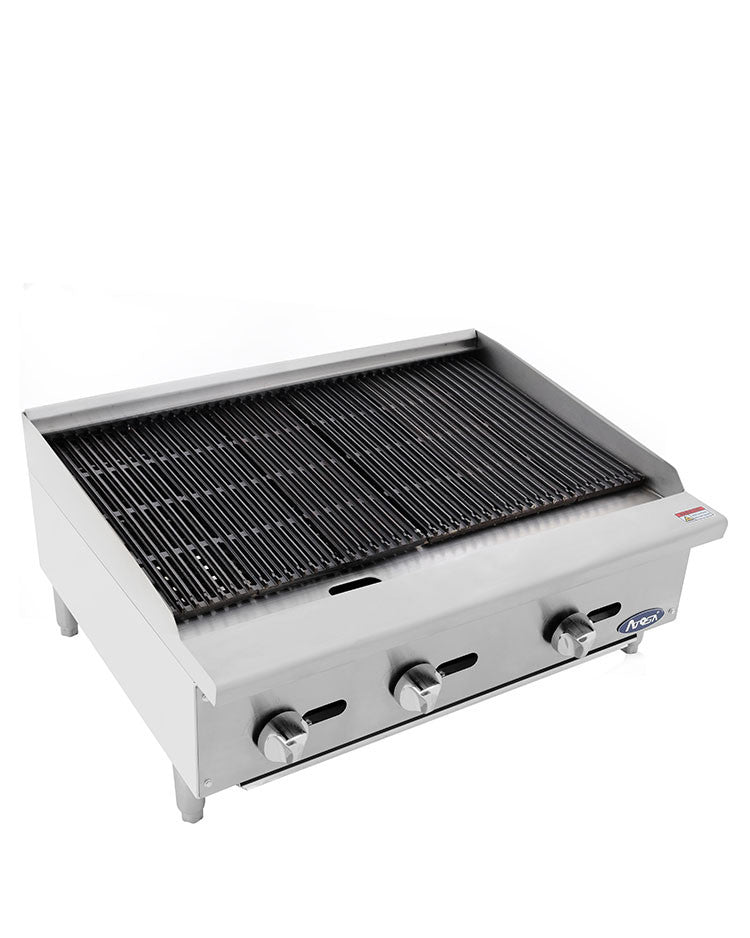 "Atosa Heavy Duty ATRC-36 Gas Radiant Charbroiler 36"" FREE SHIPPING!"