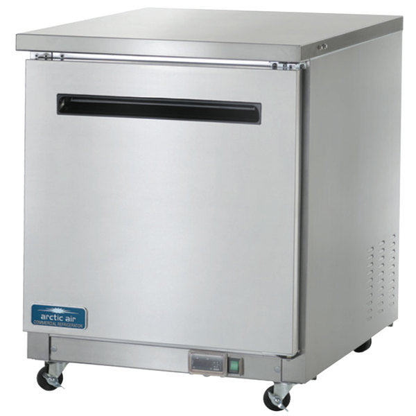 "Arctic Air AUC27R Undercounter Refrigerator 27"" FREE SHIPPING!"