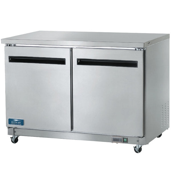 "Arctic Air AUC48F Two Door Undercounter Freezer 48"" FREE SHIPPING!"