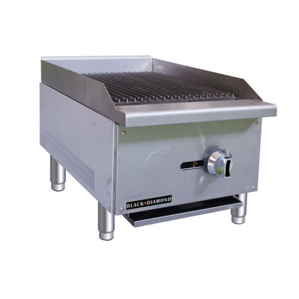 "Adcraft BDECTC-16/NG Standard 16"" Charbroiler FREE SHIPPING!"