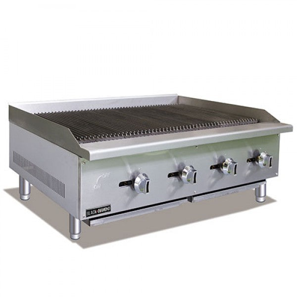 "Adcraft BDECTC-48/NG Standard 48"" Charbroiler FREE SHIPPING!"