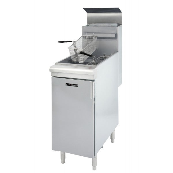 Adcraft BDGF-90/NG 35-40Lb. Gas Fryer FREE SHIPPING!