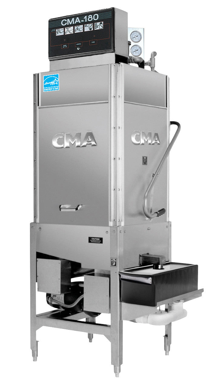 CMA Model CMA-180TS Tall Straight High Temp Dishwasher FREE SHIPPING!