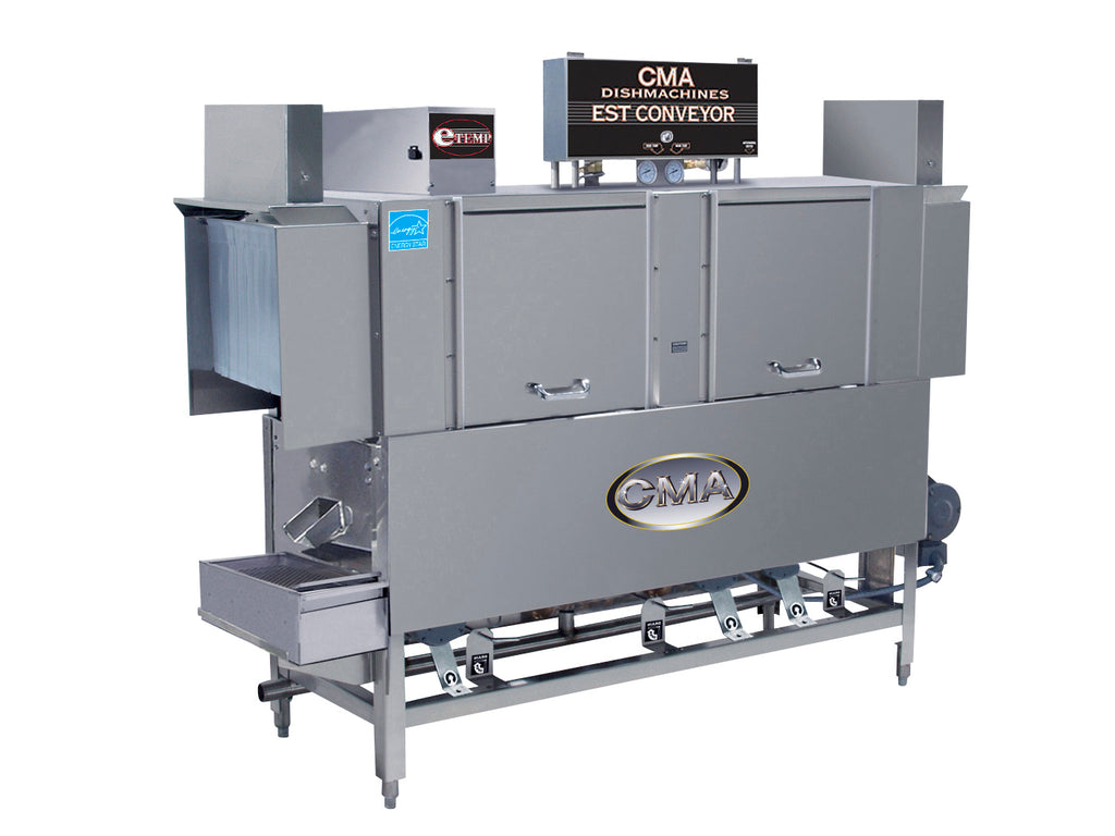 CMA EST-66 High/Low Temp Conveyor Type Dishwasher FREE SHIPPING!