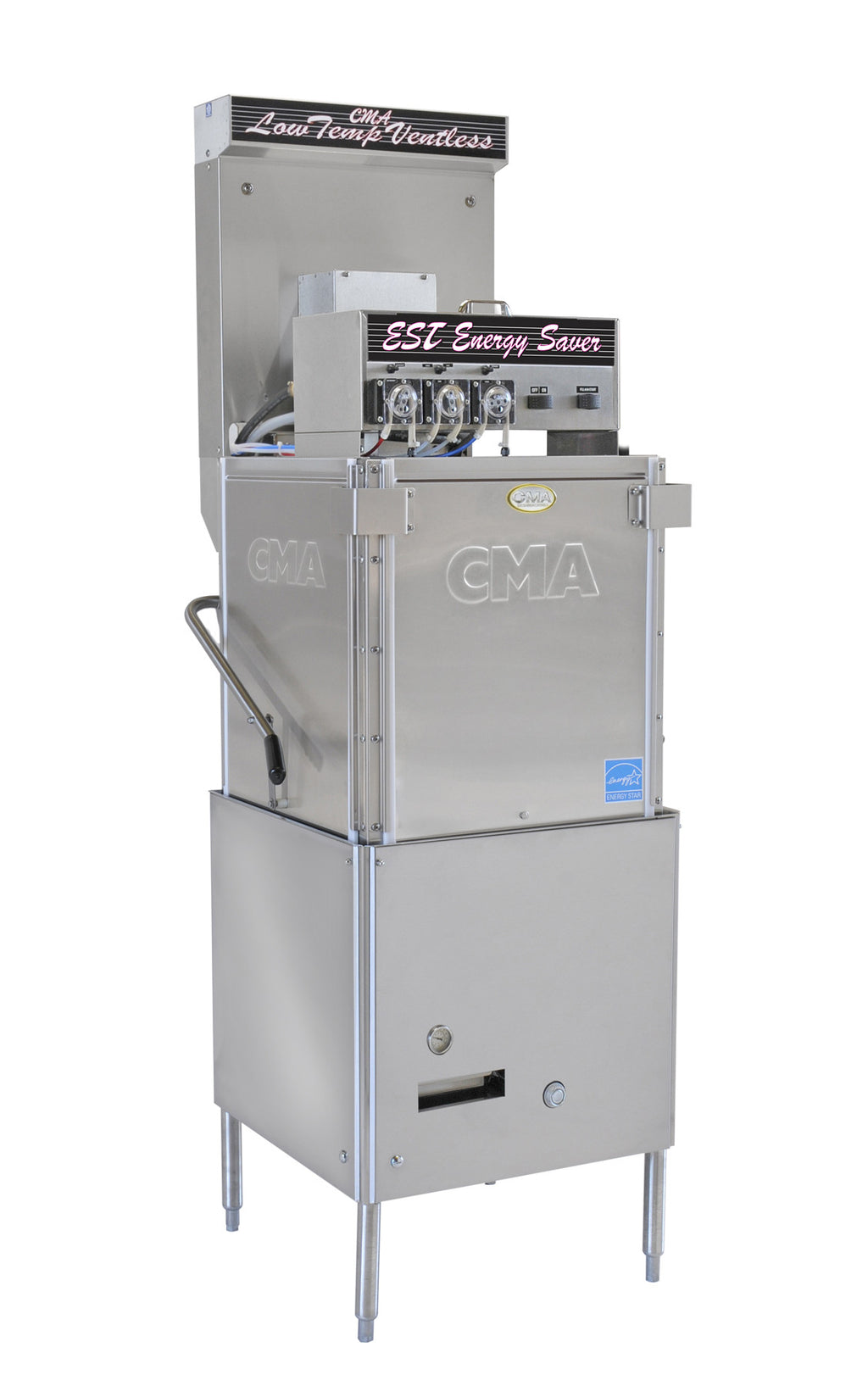 CMA EST-VL Low Temp Ventless Single Rack Dishwasher FREE SHIPPING!