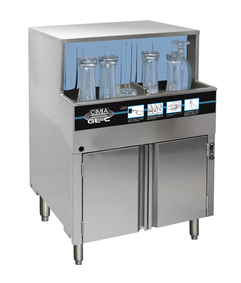 CMA GW-100 Low Temp Undercounter Glasswasher FREE SHIPPING!