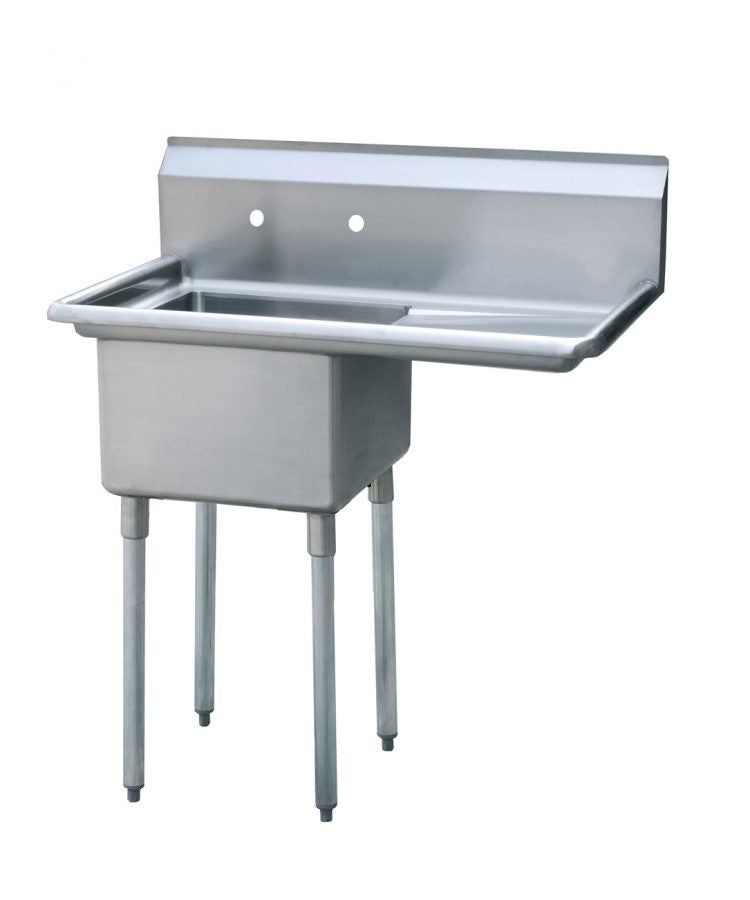 Atosa MRSA-1-R One Compartment SS Sink Right Drainboard FREE SHIPPING!