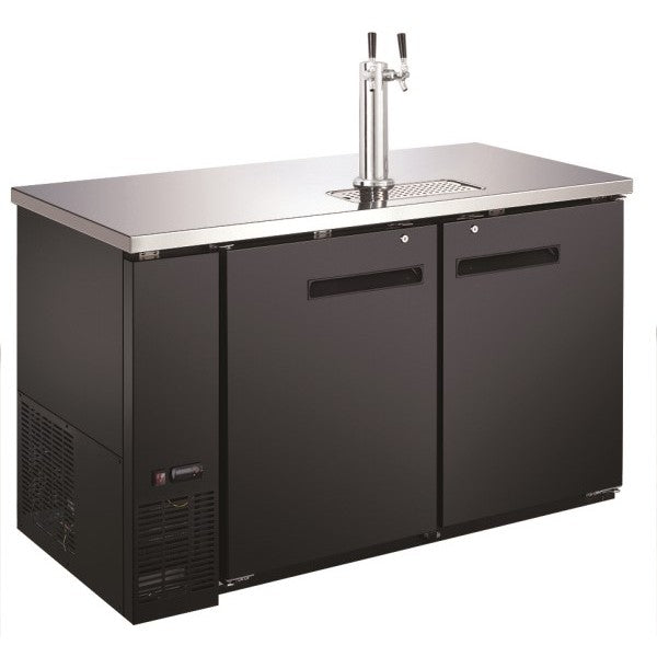 "Adcraft USBD-5928/2 Double Tap 59"" Beer Dispenser FREE SHIPPING!"